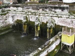 ゴアガジャ遺跡の沐浴場