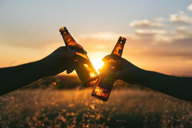 適量のお酒が早漏の対策になります。