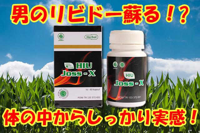 男性機能をめっちゃ高める精力剤サプリメント~ジョスX新登場!